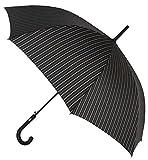 Elegante Paraguas básico Vogue para Hombre. Estampado Raya