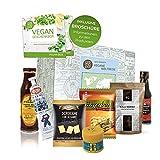 Excepcional caja de regalo Vegan World Tour | Comida vegana de todo el mundo |...