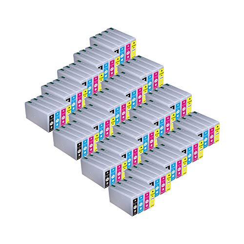 RudyTwos 20x Ersatz für Epson 79XL (TowerofPisa) Set Tinteneinheit Schwarz Cyan Magenta & Gelb kompatibel zu WorkForce Pro WF-4630DWF, WF-4640DTWF, WF-5110DW, WF-5190DW, WF-5620DWF, WF-5690DWF