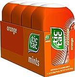 Tic Tac Fresh Breath Mints, Orange, Bulk Hard Candy Mints, 3.4 oz Bottle Packs, 4 Count, Perfect Easter Basket Stuffers for Boys and Girls