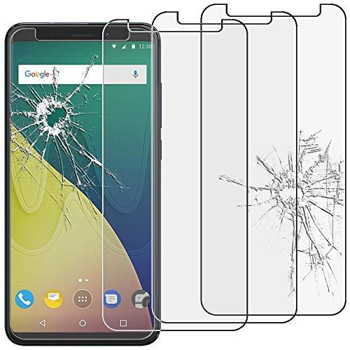 ebestStar - kompatibel mit Wiko View XL Panzerglas x3 Schutzfolie Glas, Schutzglas Bildschirmschutz, Bildschirmschutzfolie 9H gehärtes Glas [Phone: 158.1 x 76.5 x 8.2mm, 5.99'']