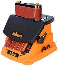 Triton 977604 Oscillerende spindel- en bandschuurmachine, 450 W TSPST450, oranje (UK stekker en versie)