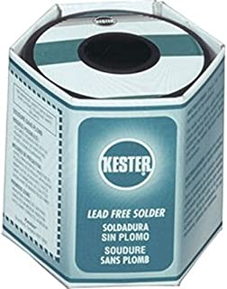Kester 331 Water Soluble Flux Core Lead-Free Solder Wire - +423 F Melting Point - 0.031 in Wire Diameter - Sn/Cu/Ni/Bi Compound - 24-9574-6403 [PRICE is per POUND]