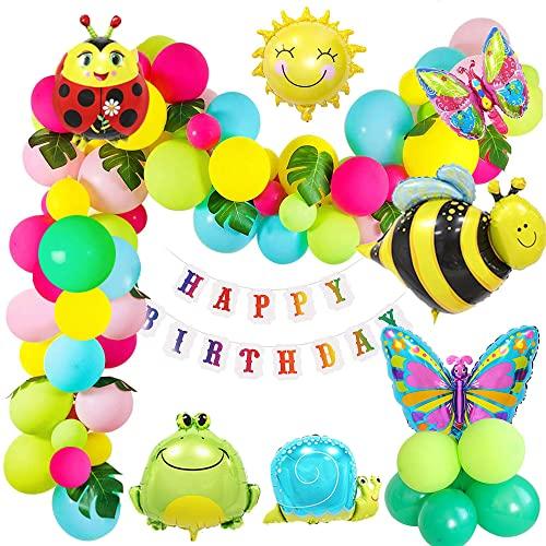 Compleanno Decorazioni Festa Ragazze Insetto Decorazione di Compleanno Per Ragazze Decorazione di Compleanno Palloncino