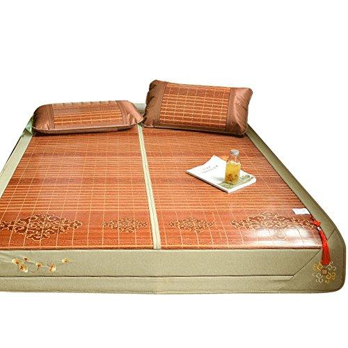 BJL-mat Cool Matratze, Bettwäsche, Strohmatte, Sommer-Schlafmatte, faltbar, doppelseitig, multifunktional, 1,5/1,8 m oyo 1.8×2.0m