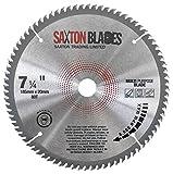 TCT18580TTCG20B <span class='highlight'>Saxton</span> TCT Circular Saw <span class='highlight'>Blade</span> 185mm x 80T x 20mm Bore (16mm Ring) Aluminium Laminate Hardwood