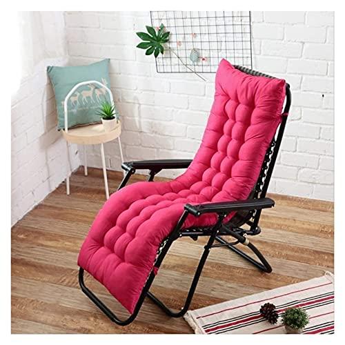 LanXin Patio Tumbona Cojines de jardín Veranda Cubierta al Aire Libre Asiento Portable del Grueso alisador for sillas Suaves Cojines del Respaldo Cojines la Cubierta for el Viaje de Vacaciones Mat