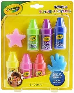 Crayola 洗澡時身體和面部涂料