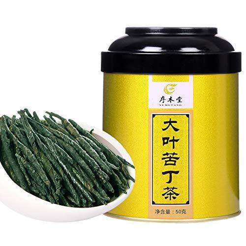 Kuding Tea 50g Green Tea Hainan Kuding New Tea (苦丁茶50克)