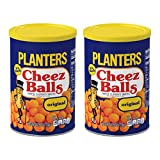 Planters Cheez Balls Cheese Flavored Snacks, Original, 2.75 OZ (Pack - 2)