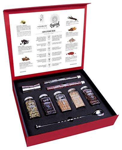 Kit de Gin Tónic con Botánicos & Especias para Cócteles 200 GR - Cocktail Botanicals & Spices