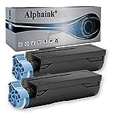 2 Cartuccie Toner Alphaink compatibile in sostituzione 7000 copie di Oki B412, B412DN, B432DN, MB472DNW, MB562DNW, 45807106, MB492DN, B512DN (Nero) (2 Toner)
