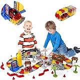 Pistas de Coches Juguetes Niños 3 Años 144 Piezas Pista de Coches con Coches de Juguetes Juegos Educativos Regalos para Niños 3 4 5 6 Años