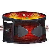 FBK Heizgürtel Elektrische Massage Waist Heizungsgürtel Elektrische Waist Heizkissen Massage-Gurt...
