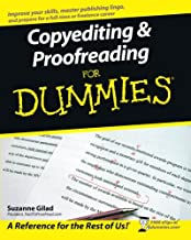Copyediting and Proofreading For Dummies (For Dummies Series)