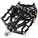 RockBros Bike Pedals Cycling Sealed Bearing Pedals (Black)