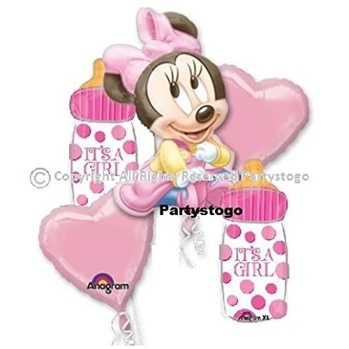 Amazon.com MINNIE MOUSE BABY SHOWER BALLOONS BOUQUET