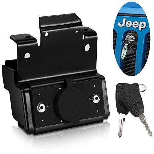 Bosmutus Replacement For Jeep Wrangler JK Hood Lock Kit 2007-2017[2 Tür/4 Tür]Zubehör