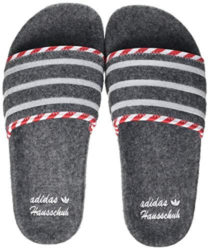 adidas Adilette, Slide Sandal Hombre, Grey/Grey/Footwear White, 35 EU