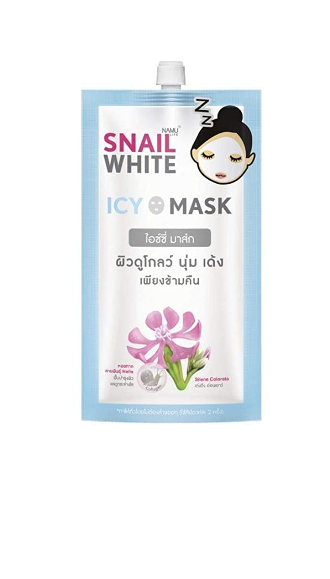 影響本体拡声器Snail White ICY MASK 7 ml.