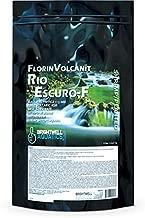 Brightwell Aquatics FlorinVolcanit Rio Escuro-F - Fine Black Volcanic Ash Substrate for Freshwater Shrimp, 5 lbs