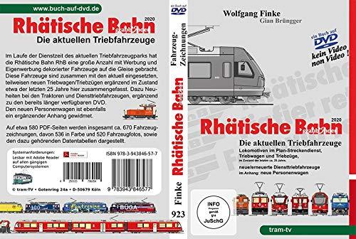 Rhätische Bahn: Die aktuellen Triebfahrzeuge