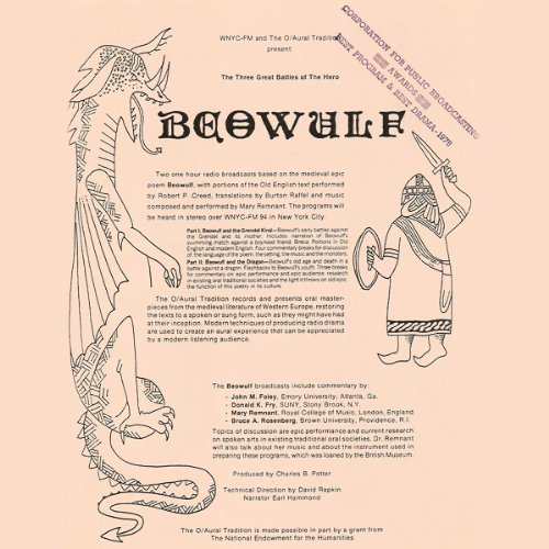 Beowulf, Part I audiobook cover art