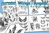 Wings & Angels Design 66-Page Tattoo Flash Book