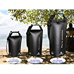 Freegrace Waterproof Dry Bags Set Of 3 Dry Bag With 2 Zip Lock Seals & Detachable Shoulder Strap, Waist Pouch & Phone…