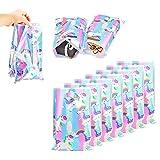 Leeq - 40 bolsas de regalo de unicornios