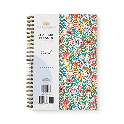 Academic Planner Yearly Monthly Weekly Daily Calendar Organizer by...