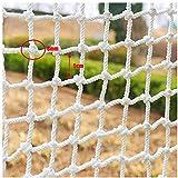 MY1MEY Red de Seguridad Tejido Red de Seguridad para niños, decoración Red de protección Valla de Escalada Red de Red de Remolque, para Parques Infantiles Decoración Interior al Aire Libre