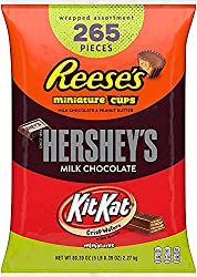 bag of hershey's candy