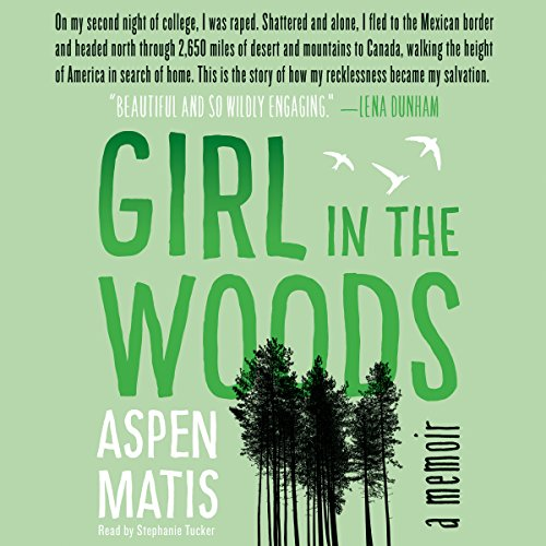 Girl in the Woods audiobook cover art