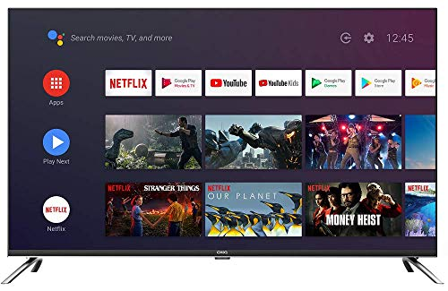CHiQ U43H7A, 43 Pouces(108cm), Android 9.0,Smart TV, UHD, 4K, WiFi, Bluetooth, Google Play Store, Google Assistant, Chromecast...