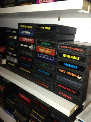 Lot of 25 Atari 2600 Games All Different Titles
