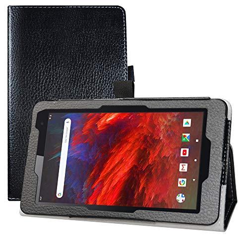 LFDZ MatrixPad Z1 Hülle,Schutzhülle mit Hochwertiges PU Leder Tasche Hülle für 7