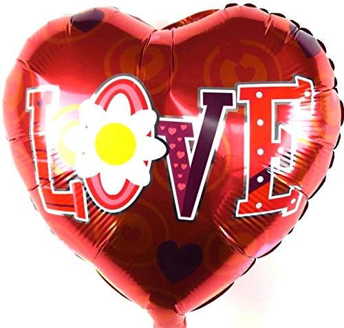 SauParty Helio Globo Día de la Madre Día de San Valentín Letras Corazón Amor Balloon