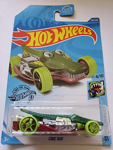 Hot Wheels 2020 Street Beasts Croc Rod, Green 160/250