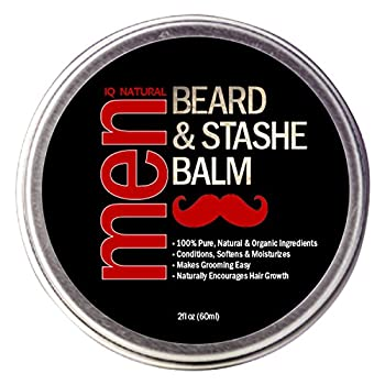 Beard Balm for Men Care - Leave in Beard Conditioner Heavy Duty Beard Wax Mustache Butter & Softener - for Styling Shaping Grooming & Growth