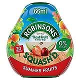 Robinsons Squash'D Frutas De Verano Sin Adición De Azúcar (66ml) (Paquete de 6)