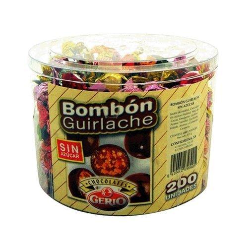 Bombón Guirlache sin Azúcar 700 gr de Gerio