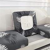 ZGDDPZA Funda de Cojín de Sofá, Antideslizante Funda de Asiento de Sofá, Cubierta para Sofá Anti Arañazos con Fondo Elástico para Protector de Sofá (Color : A7, Size : Large 2-Seater)