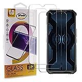 Guran 3 Paquete Cristal Templado Protector de Pantalla para Doogee S95 Pro Smartphone 9H Dureza Anti-Ara?azos Alta Definicion Transparente Película