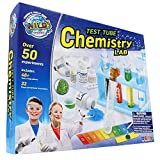 WILD! Science Test Tube Chemistry Lab - 50+ Fun Experiments and Reactions - Science Kits for Kids Age 8-12 - STEM Projects - Chemistry Set