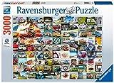 Ravensburger- Volkswagen Puzzle 3000 Piezas, Multicolor (16018)