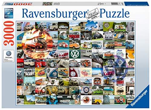 Ravensburger Puzzle 16018 - 99 VW Bulli Moments - 3000 Teile Puzzle für Erwachsene und Kinder ab 14 Jahren, Puzzle mit Auto-Motiv