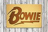 StarlingShop Felpudo David Bowie con diseño de David Bowie, cumpleaños