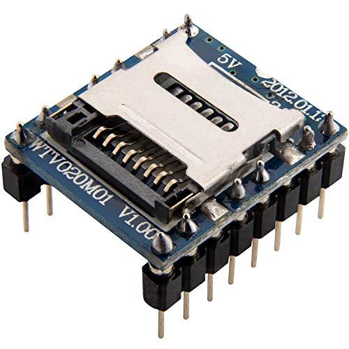 AZDelivery WTV020 Sound Audio Modul SD Card für Arduino