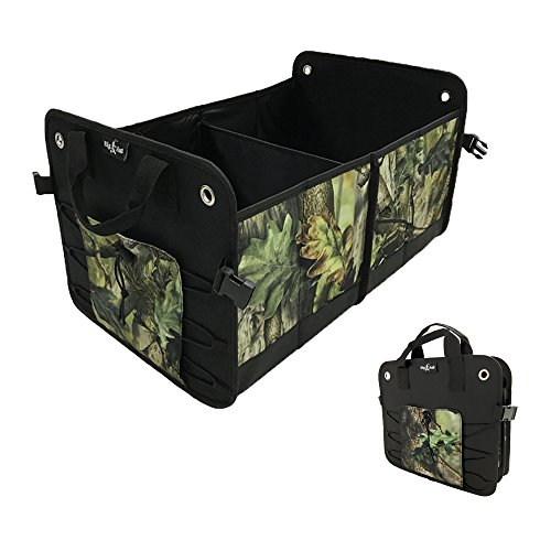 Big Ant Car Trunk Organizer Durable Collapsible Cargo Storage Trunk Organizer with Straps to Prevent Sliding-Best for SUV, Truck, Auto, Vehicle